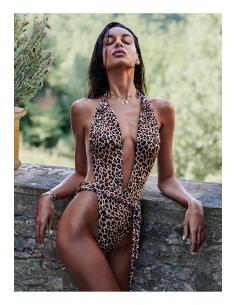 OB Cancunella swimsuit leo