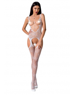 Bodystocking BS075 Blanche