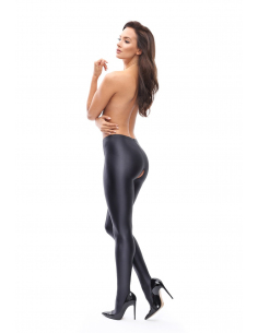 MI P800 pantyhose open crotch black
