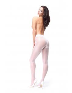 MI P102 pantyhose open crotch white 40den