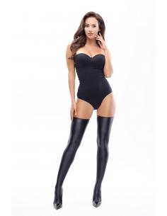 MI S800 hold up stockings black
