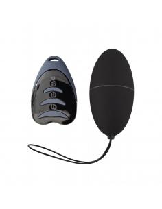 Oeuf vibrant MagicEGG 3.0 10 vitesses Noir avec télécommande