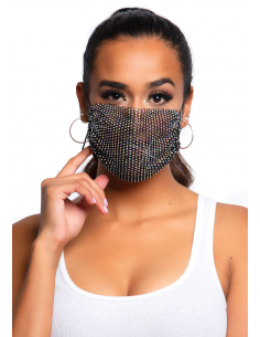 Couvre masque Harlow Strass