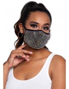 Masque Zuri Strass