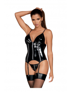 Stormea corset & string noir