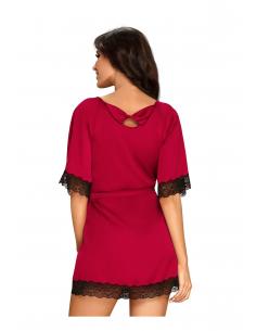 Chemise de Nuit Sensuelia Rouge
