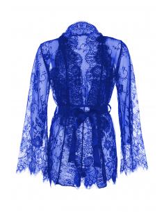 Body et robe dentelle 86112 Bleu