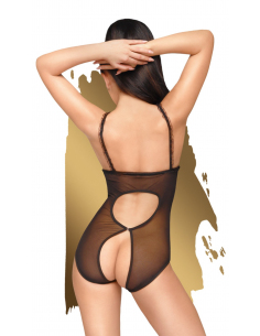 Body seins nus Noir Turned on - PH0021BLK