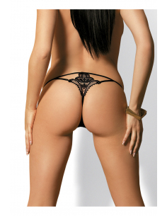 Luiza string Noir