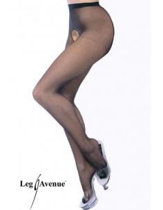 Collant Ouvert réf: 1905-Leg Avenue-02.Bas et collant sexy