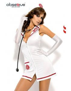 Emergency dress avec Stéthoscope -Obsessive-09.Costume Sexy