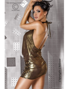 Robe sexy bronze