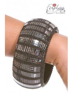 Bracelet disco effet acier-Forplay-03.Accessoires sexy