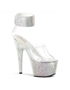 BEJEWELED-712RS BEJ712RS/C/SMCRS-PLEASER -05.Chaussure Clubbing sexy