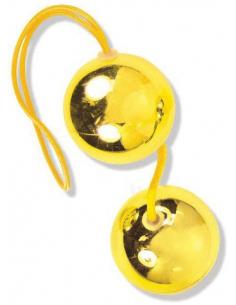 Boules de Geisha dorées X-Orgasm