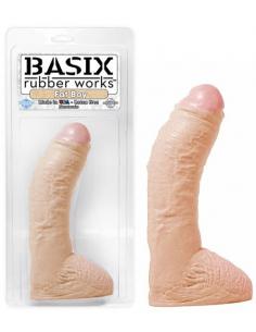 Gode extra large Basix Rubber Works Fat Boy - 25 cm