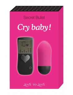 Oeuf vibrant Cry baby-LOVE TO LOVE-11.Sex-toys