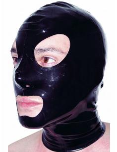 Cagoule latex noir -Honour-11.Sex-toys