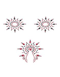 Bijoux de peau Gloria Set noir et rouge Petits Joujoux-Petits Joujoux-07.Lingerie
