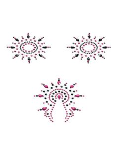 Bijoux de peau Gloria Set noir et rose Petits Joujoux-Petits Joujoux-07.Lingerie
