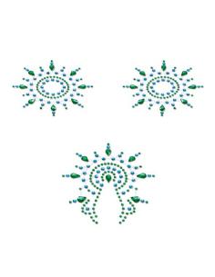 Bijoux de peau Gloria Set turquoise et vert Petits Joujoux-Petits Joujoux-07.Lingerie