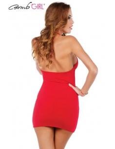 Robe Vertigineuse Rouge Be Woman-Bomb Girl-06.Prêt à porter