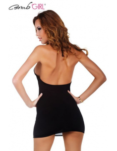 Robe Vertigineuse Noire Be Woman-Bomb Girl-06.Prêt à porter