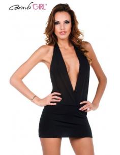 Robe Provocante Be Woman Noir-Bomb Girl-06.Prêt à porter