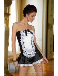 Robe bustier style servante-Beauty Night-09.Costume Sexy