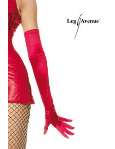 Gants Extra Longs satin rouge-Leg Avenue-03.Accessoires sexy