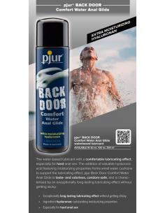 Lubrifiant anal Back Door Eau - Comfort 100 ml