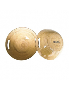 Bol bambou pour massage Nuru