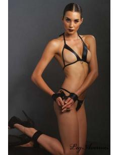 Ensemble lingerie 4 pièces - KINK - LEG AVENUE KI4001
