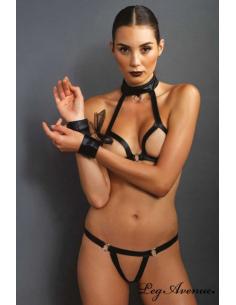 Ensemble 3 pièces lingerie - KINK - KI4003