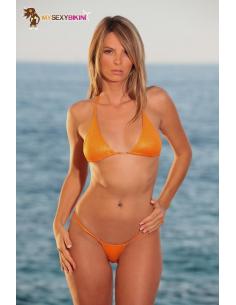 Maillot de bain string Palm Beach Paprika Métallisé -Mysexybikini-06.Prêt à porter