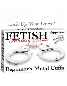 Menottes Beginner's Metal Cuffs Fetish Fantasy