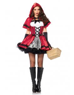 Costume Petit Chaperon Rouge Satin