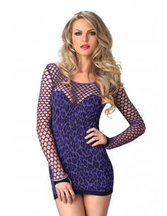 Mini robe léopard coloré - LEG AVENUE