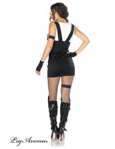 Costume 4 pièces Officier SWAT -Leg Avenue-09.Costume Sexy