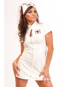 Infirmiere costume pvc-Honour-10.Fetish