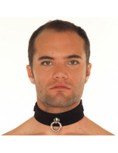COLLIER, LARGEUR 4 CM Noir