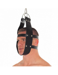 Masque avec attaches de suspension