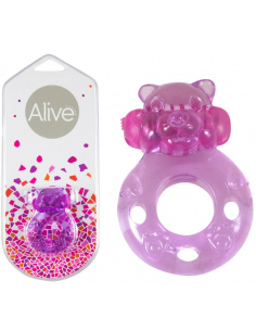Anneau vibrant Power Ring Ourson Alive Sextoys - 1