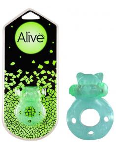 Anneau vibrant phosphorescent Flash Teddy Alive Sextoys - 1