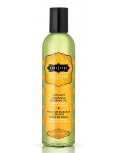 Huile de massage naturelle Coconut Pineapple - 236 ml