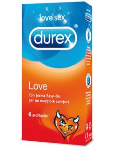 6 X Préservatifs Durex Love