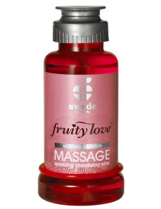 Huile de massage Fruity Love Swede Fraise 100 ml