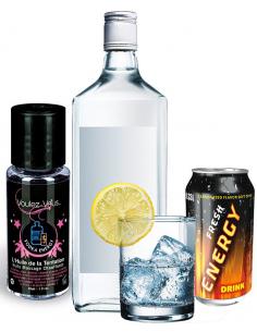 Huile de la Tentation Vodka Energy - flacon 30ml