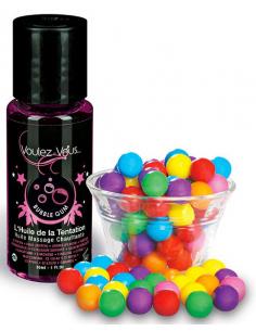 Huile de la Tentation Bubble Gum - flacon 30ml