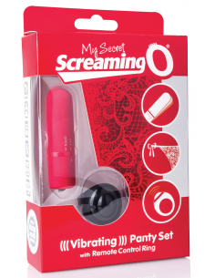 The Screaming O-Remote Control Panty Vibe Rouge